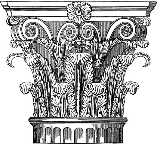 Corinthian Capital Icon