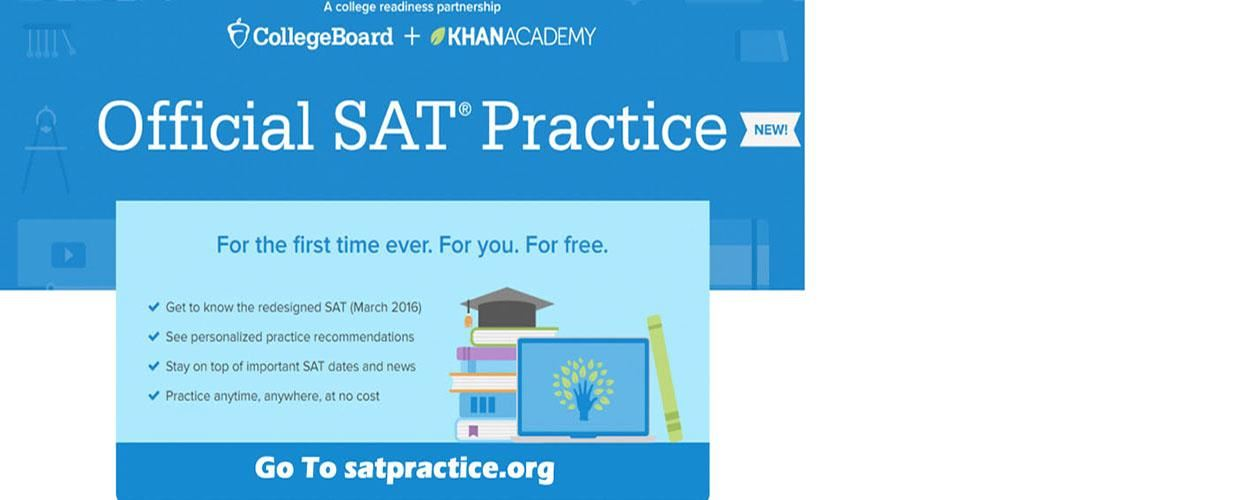 New SAT Banner on Website