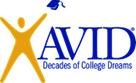 AVID-Decades of College Dreams Logo