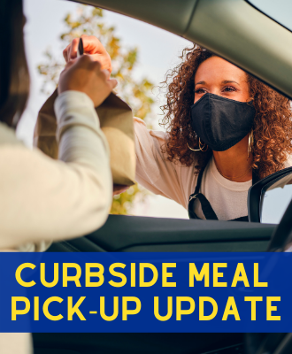 SDOC Curbside Meal Pick-Up Update